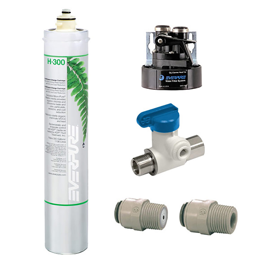 Everpure h 300 do it yourself drinking water system for Everpure h300nxt
