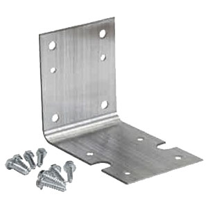 Pentek Big Blue Housing Bracket and Screws, Zinc Plated Carbon Steel