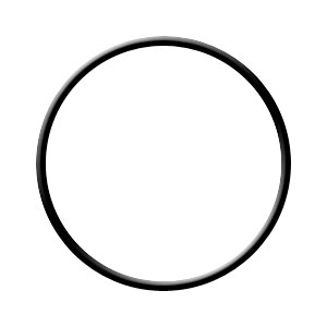O-Ring, Buna-N for Pentek #237 for 5, #10 & #20 Slim Line Filter Housings