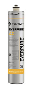 "Everpure 14.5"" Activated Carbon Cartridge for Cold Beverages"