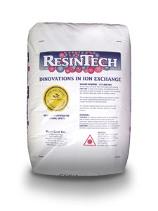ResinTech Fine Mesh Size Softening Resin - Softening/Iron Removal (Na or H Form)