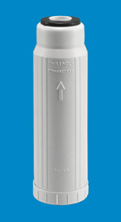 "10"" x 2.5"" Empty Refillable Canister - White"
