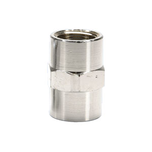 "1.5 GPM Flow Restrictor 1/2"" x 1/2"" FNPT, 316L Stainless Steel"