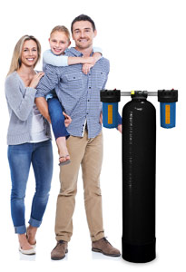 5 - 7 GPM Non-Backwashing Whole House Carbon Filter with 1