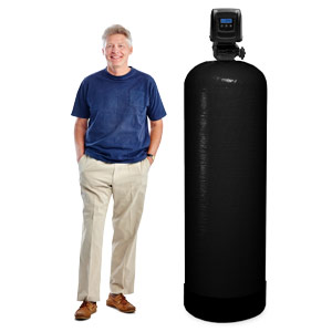 20 - 25 GPM Large Whole House Backwashing Carbon Water Filter
