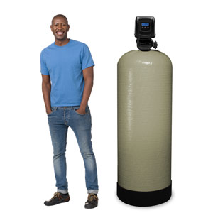 28 - 32 GPM Large Whole House Backwashing Carbon Water Filter