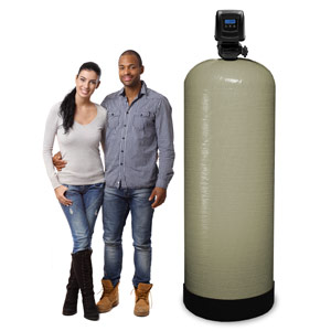 35 - 42 GPM Large Whole House Backwashing Carbon Water Filter
