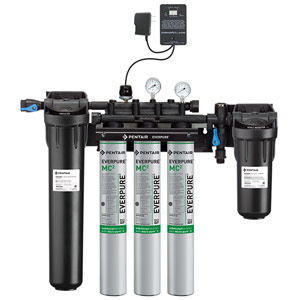 Everpure High Flow CSR Triple - MC² w/ Low Pressure Alarm