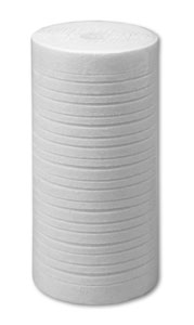 "10"" x 4.5"", 20 Micron Grooved Melt Blown Polypropylene Filter"