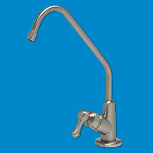 Luxury Lead Free Drinking Water Faucet - Brushed Nickel Finish