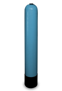 "Structural Poly Glass Blue Tank - 6"" x 35"", 0.51 Cu. Ft., 3.8 Gal Capacity"