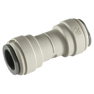"John Guest 3/8"" (OD) Straight Union Connector (Acetal)"