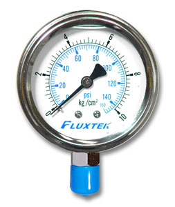 Oil-Filled Pressure Gauge
