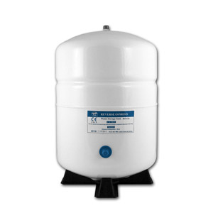 2.2-Gallon Steel Bladder Tank - White
