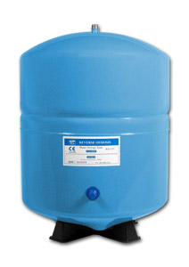 3.2-Gallon Steel Bladder Tank - Blue