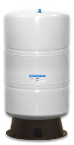 20-Gallon Steel Bladder Tank - White