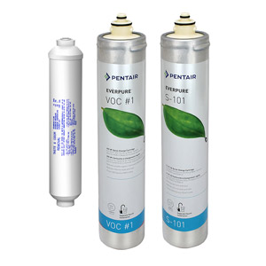Everpure replacement cartridges for rom iii reverse for Everpure reverse osmosis