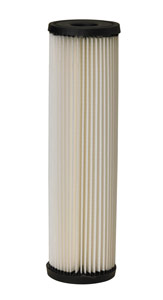 "Pentek S1 9-3/4"", 20 Micron Nominal Pleated Cellulose Cartridge"