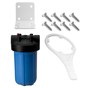 "10"" x 4.5"" Blue Sediment Filter Kit - 1"