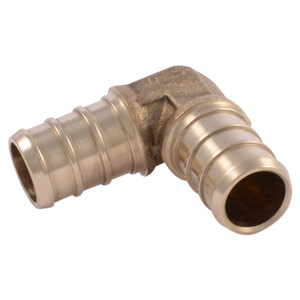 "SharkBite 1/2"" x 1/2"" 90° PEX Elbow Connector, Lead Free"