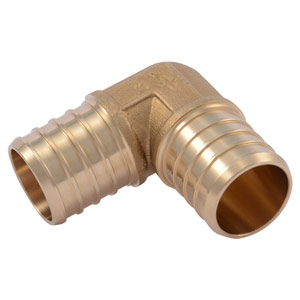 "SharkBite 1"" x 1"" 90° PEX Elbow Connector, Lead Free"