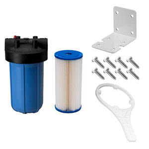 "10"" x 4.5"" Blue 5 Micron Sediment Filter Kit for UV System"