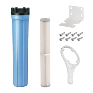 "20"" x 2.5"" Blue 5 Micron Sediment Filter Kit for UV System"