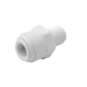 "Organic 3/8"" QC x 1/4"" MPT Male Connector"