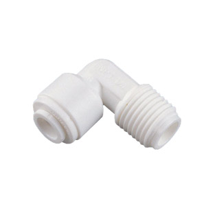 "Organic 1/4"" QC x 1/4"" MPT Male Elbow"