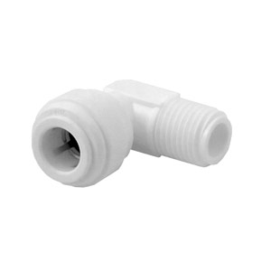 "Organic 3/8"" QC x 1/4"" MPT Male Elbow"