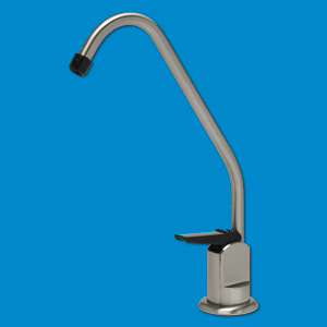 Standard Long Reach Drinking Water Faucet - Brushed Nickel Finish & Tip