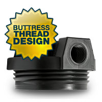 Kemflo Filter Housing with Buttress Thread