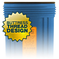 Filter Housing with Buttress Thread