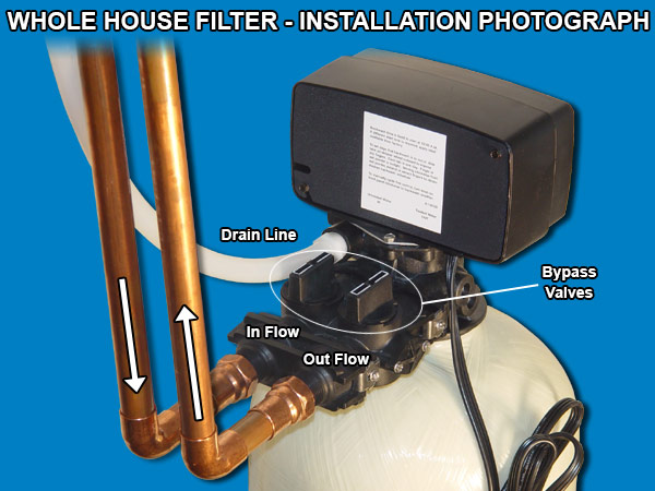 10 12 Gpm Whole House Backwashing Carbon Water Filter