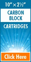 Carbon Block Standard Size Cartridges 10x2½