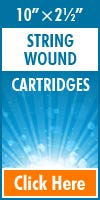 String Wound Standard Size Cartridges 10x2½