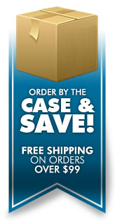 Order By The Case And Save! Free Shipping on Order Over $99