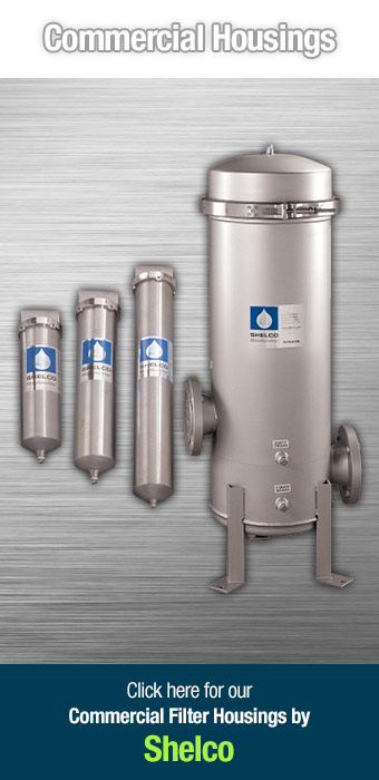 Click here for our Stainless Steel Commercial Filter Housings by H2O Distributors