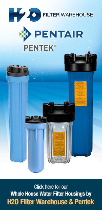 Click here for our Whole House Water Filter Housings by Flowmatic