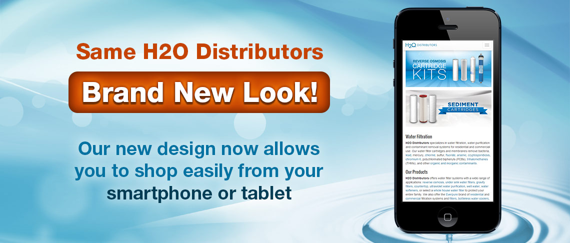 H2O Distributors New Website