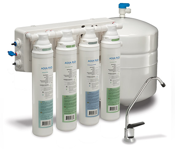 Pura Quick Change 50 GPD Reverse Osmosis Water Filter System By Hydrotech